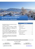 GALEA_Actualité Assurance_Novembre