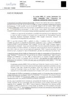 20170207 La Correspondance Economique