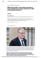 20191027 Article Réforme des retraites LE MONDE