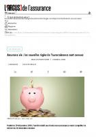 20200107 Assurance vie _ les nouvelles règles de l'eurocroissance sont connues