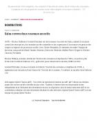 20200928Galea nomme deux nouveaux associés – Nominations