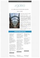 La lettre de la Protection Sociale Mars 2020
