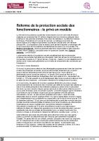 20211005 Tribune-assurance.fr protection sociale des fonctionnaires